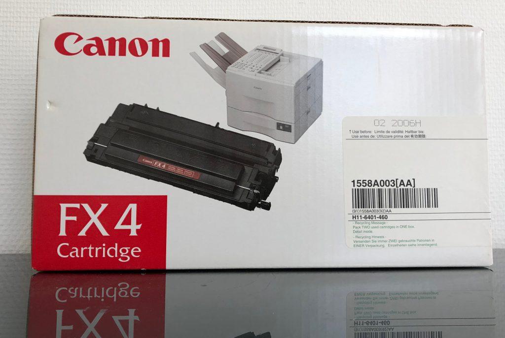 original FX4 cartridge 3 stuks € 27,50 per stuk