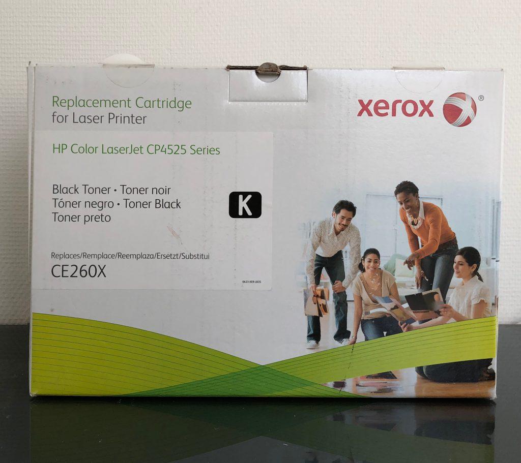 Xerox Black K toner > compatible met HP CE-260X € 129,50
